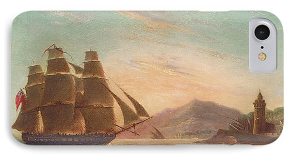The Frigate Hms Pearl IPhone Case by English School
