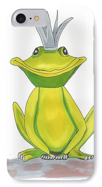 The Frog King Phone Case by Isabel Proffit