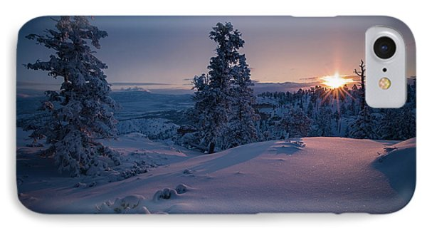 The Frozen Dance Phone Case by Edgars Erglis