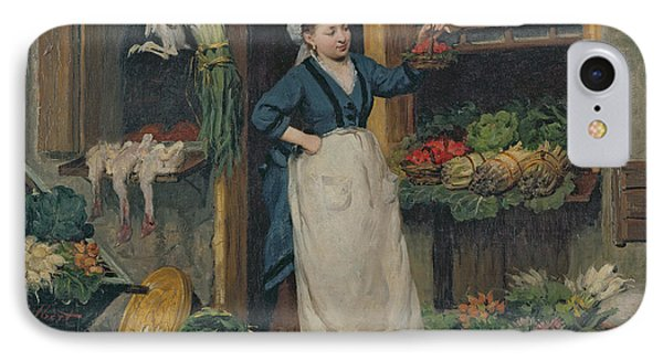 The Fruit Seller IPhone Case