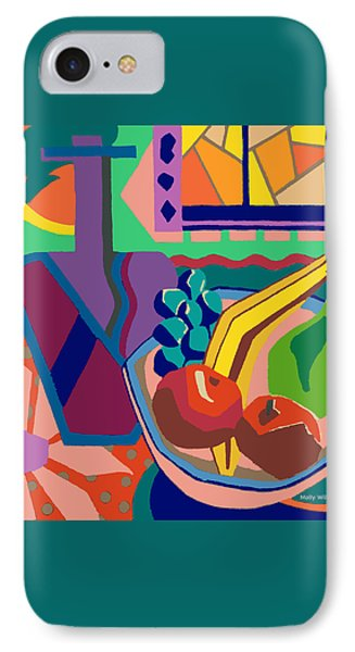 The Fruit Table IPhone Case by Molly Williams