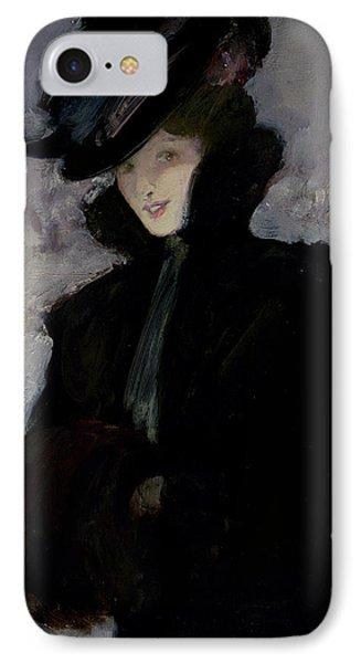 The Fur Coat IPhone Case by Bessie MacNicol