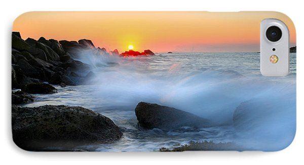 The Fury Of The Sea IPhone Case by Mike  Dawson