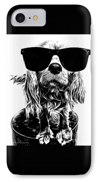 The Future's So Bright, I Gotta Wear Shades IPhone Case by Edward Fielding