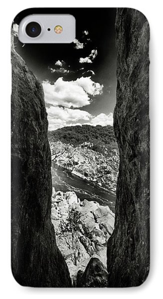 The Gap IPhone Case by Paul Seymour