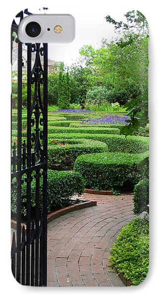The Garden 1 IPhone Case by Mike McGlothlen