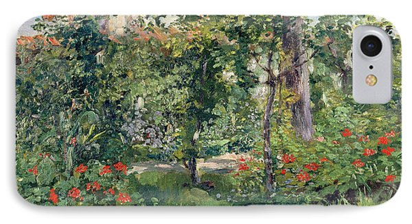 The Garden At Bellevue Phone Case by Edouard Manet