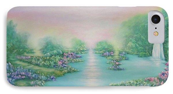 The Garden Of Eden IPhone Case by Hannibal Mane