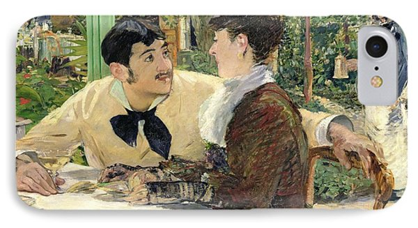 The Garden Of Pere Lathuille Phone Case by Edouard Manet