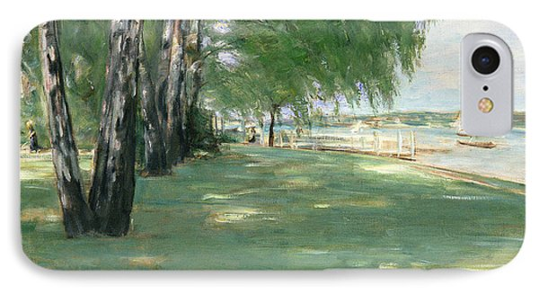 The Garden Of The Artist In Wannsee IPhone Case by Max Liebermann