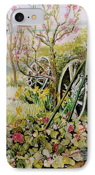 The Garden Pump IPhone Case by Joan Thewsey