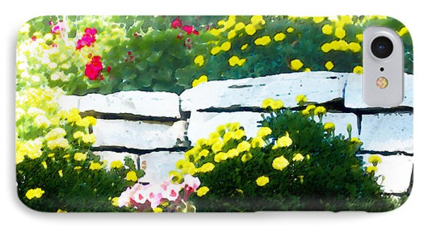 The Garden Wall IPhone Case by David Blank