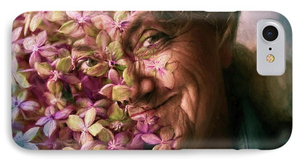 The Gardener IPhone Case by Jean OKeeffe Macro Abundance Art