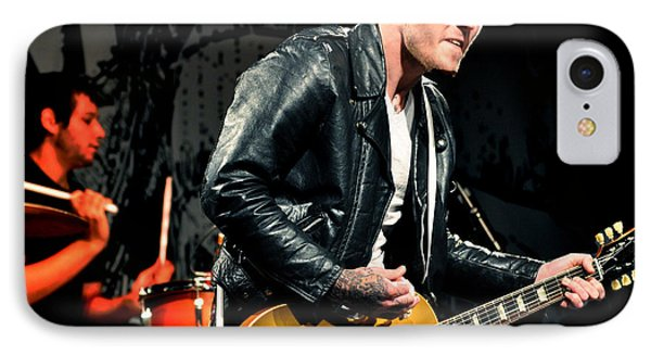 IPhone Case featuring the photograph The Gaslight Anthem by Jeff Ross
