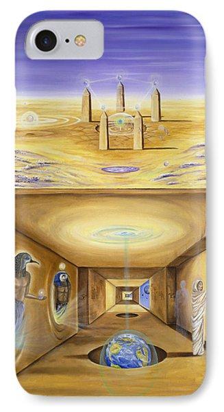 The Gate Keeper Phone Case by Teresa Gostanza