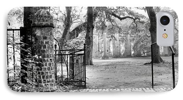 The Gates Of The Old Sheldon Church IPhone Case