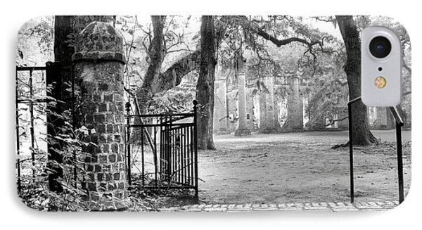 The Gates Of The Old Sheldon Church IPhone Case by Scott Hansen