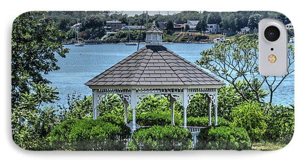 IPhone Case featuring the photograph The Gazebo by Tom Prendergast