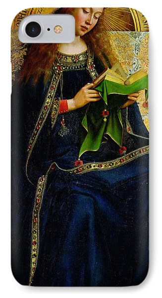 The Ghent Altarpiece The Virgin Mary Phone Case by Jan and Hubert Van Eyck