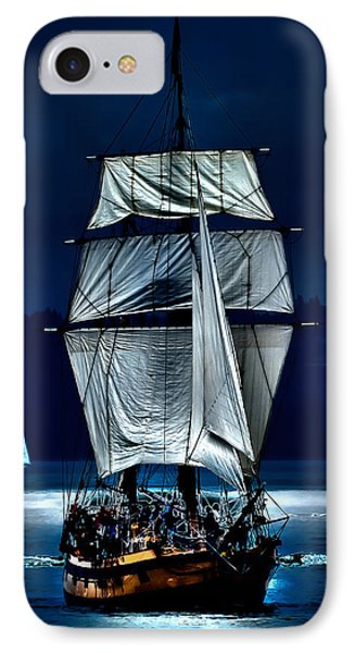 The Ghost Ship IPhone Case by David Patterson
