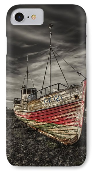 The Ghost Ship Phone Case by Evelina Kremsdorf