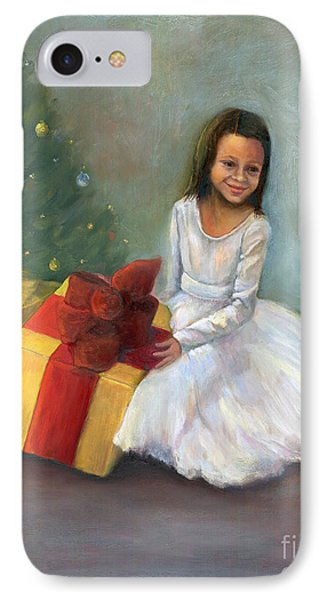 IPhone Case featuring the painting The Gift by Marlene Book
