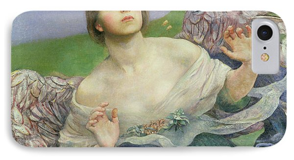 The Gift Of Sight Phone Case by Annie Louisa Swynnerton