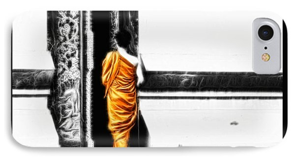 The Gilded Monk IPhone Case by Cameron Wood