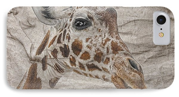 IPhone Case featuring the photograph The Giraffe  by Dyle   Warren