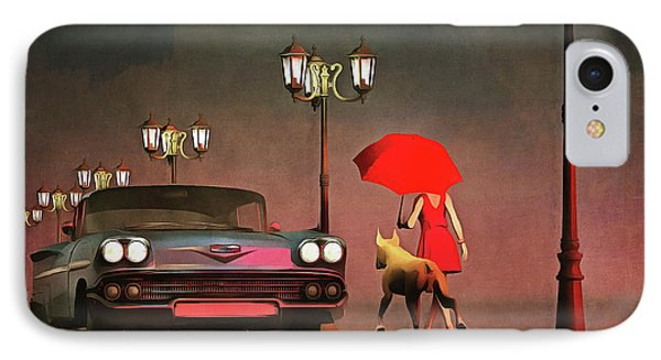 The Girl In Red IPhone Case