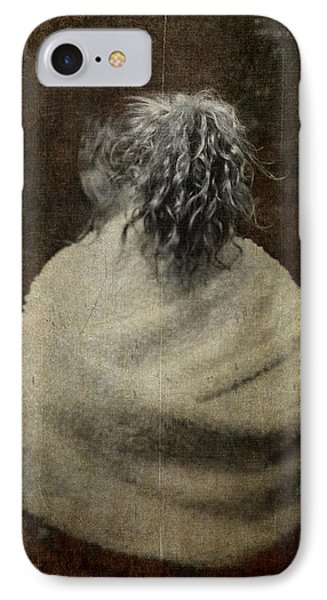 The Girl With Silver Hair IPhone Case by Loriental Photography