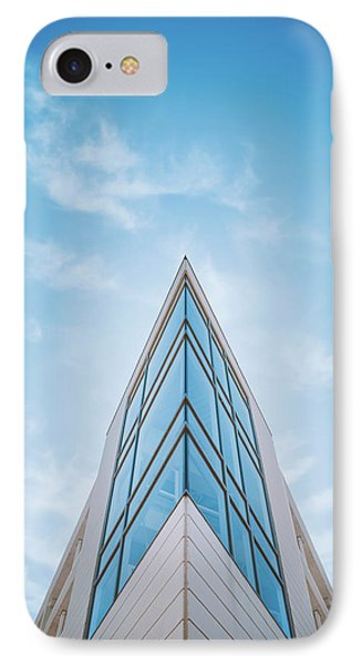 The Glass Tower On Downer Avenue IPhone Case by Scott Norris
