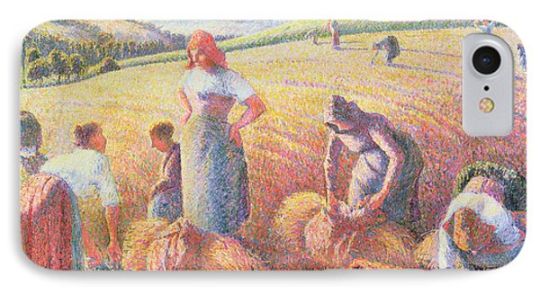 The Gleaners Phone Case by Camille Pissarro