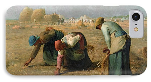 The Gleaners IPhone Case by Jean Francois Millet