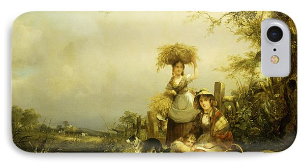 The Gleaners Shirley, Hants IPhone Case