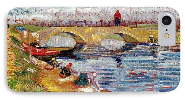 The Gleize Bridge Over The Vigneyret Canal  Phone Case by Vincent van Gogh