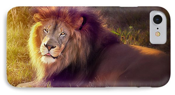 The Glorious King  IPhone Case