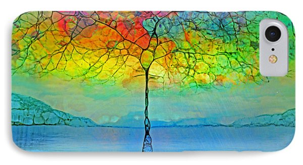 The Glow Tree IPhone Case by Tara Turner