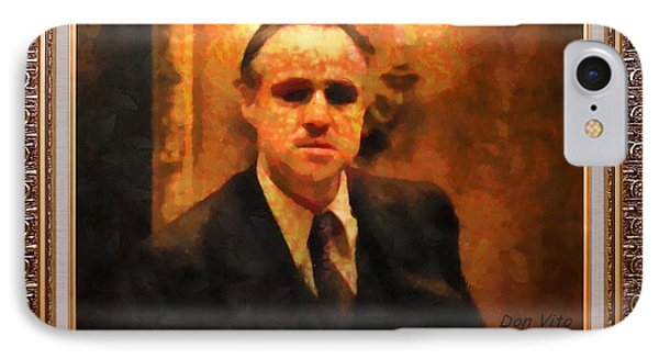The Godfather IPhone Case by Mario Carini