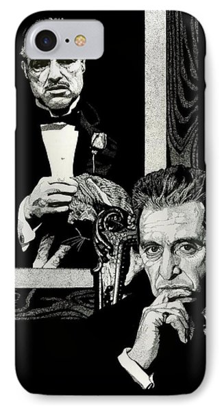 The Godfather IPhone Case by Mitchell Masullo