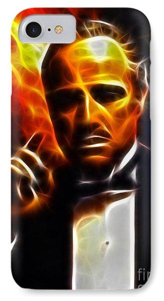 The Godfather Phone Case by Pamela Johnson