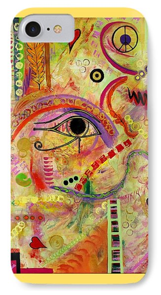 The Gods Must Be Crazy IPhone Case by Denise Peat
