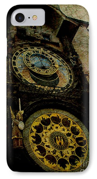 The Gods Of Time Phone Case by Lee Dos Santos