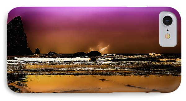 The Golden Beach IPhone Case by David Patterson
