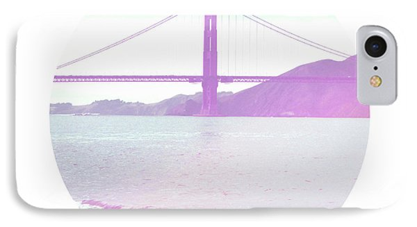 The Golden Gate- Art By Linda Woods IPhone Case