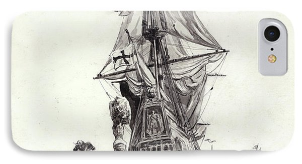 The Golden Hind  IPhone Case