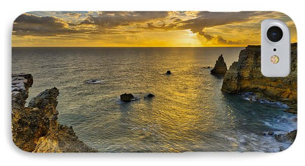 IPhone Case featuring the photograph The Golden Hour - Cabo Rojo - Puerto Rico by Photography By Sai