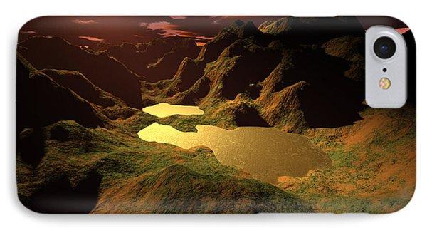 The Golden Lake Phone Case by Gaspar Avila