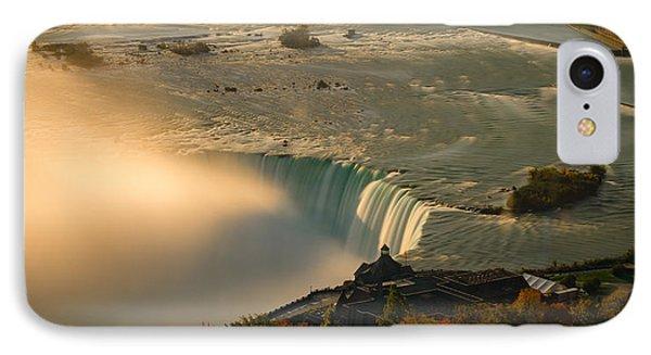 The Golden Mist Of Niagara IPhone Case