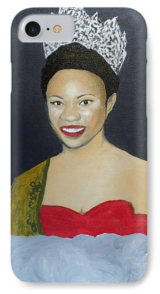 The Golden Queen  IPhone Case by Angelo Thomas